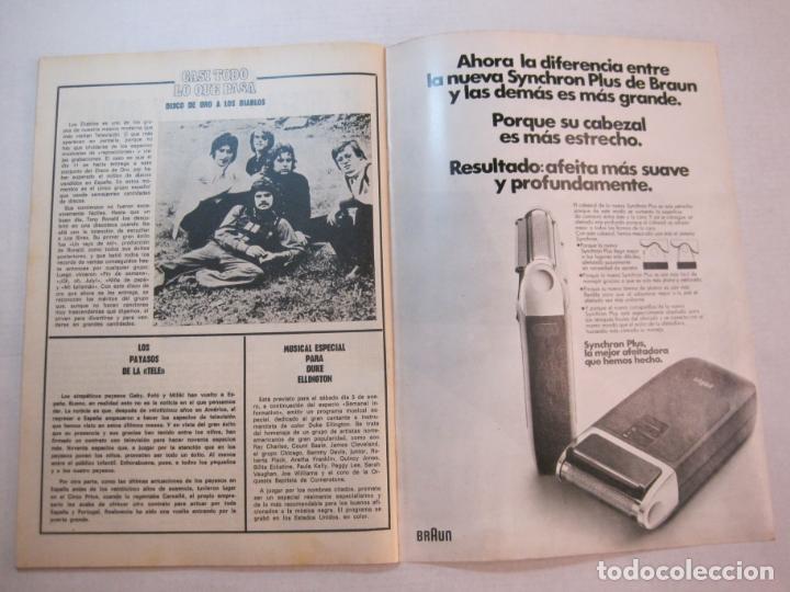 Coleccionismo de Revistas y Periódicos: TELE DIA-Nº 63-AÑO 1973-KUNG FU-AUDREY HEPBURN-JERRY LEWIS-ANTHONY QUINN-LOS DIABLOS-VER FOTOS - Foto 16 - 243444225
