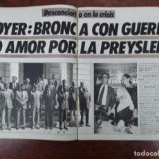 Coleccionismo de Revistas y Periódicos: ISABEL PREYSLER MIGUEL BOYER DOCTOR PUIGVERT FRANCO ASESINATO TERESA MESTRE TARRAGONA MAYAYO 1985. Lote 243446575