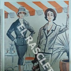 Coleccionismo de Revistas y Periódicos: COLECCION DE FICHAS VESTUARIO FEMENINO - AUBELE - BARCELONA AÑOS 70 -. Lote 243447725