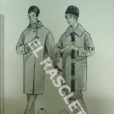 Coleccionismo de Revistas y Periódicos: COLECCION DE FICHAS VESTUARIO FEMENINO - AUBELE - BARCELONA AÑOS 70 -. Lote 243447935