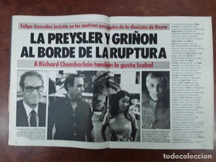 ISABEL PREYSLER MIGUEL BOYER GRIÑON NAZI DOCTOR MENGELE ASESINATO NIÑO 11 AÑOS COMPETA MALAGA 1985 (Coleccionismo - Revistas y Periódicos Modernos (a partir de 1.940) - Otros)
