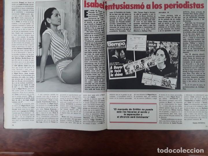 Coleccionismo de Revistas y Periódicos: ISABEL PREYSLER MIGUEL BOYER GRIÑON NAZI DOCTOR MENGELE ASESINATO NIÑO 11 AÑOS COMPETA MALAGA 1985 - Foto 3 - 243450030