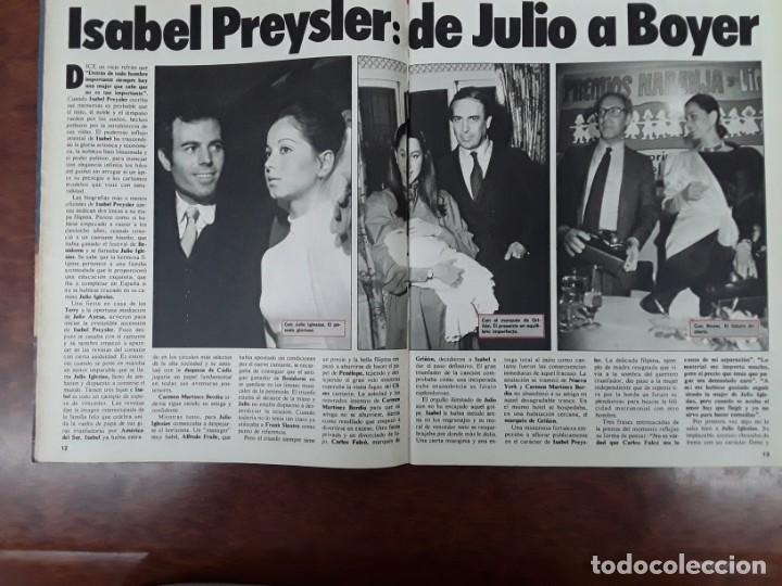 Coleccionismo de Revistas y Periódicos: ISABEL PREYSLER MIGUEL BOYER GRIÑON NAZI DOCTOR MENGELE ASESINATO NIÑO 11 AÑOS COMPETA MALAGA 1985 - Foto 4 - 243450030