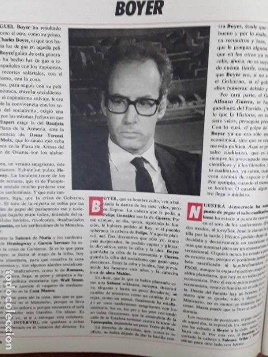 Coleccionismo de Revistas y Periódicos: ISABEL PREYSLER MIGUEL BOYER GRIÑON NAZI DOCTOR MENGELE ASESINATO NIÑO 11 AÑOS COMPETA MALAGA 1985 - Foto 6 - 243450030