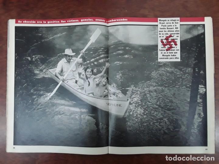 Coleccionismo de Revistas y Periódicos: ISABEL PREYSLER MIGUEL BOYER GRIÑON NAZI DOCTOR MENGELE ASESINATO NIÑO 11 AÑOS COMPETA MALAGA 1985 - Foto 9 - 243450030