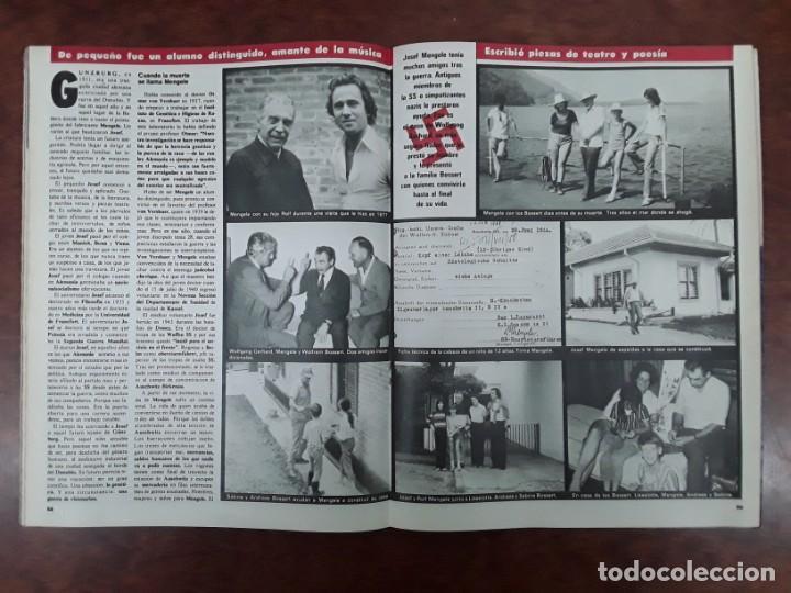Coleccionismo de Revistas y Periódicos: ISABEL PREYSLER MIGUEL BOYER GRIÑON NAZI DOCTOR MENGELE ASESINATO NIÑO 11 AÑOS COMPETA MALAGA 1985 - Foto 10 - 243450030