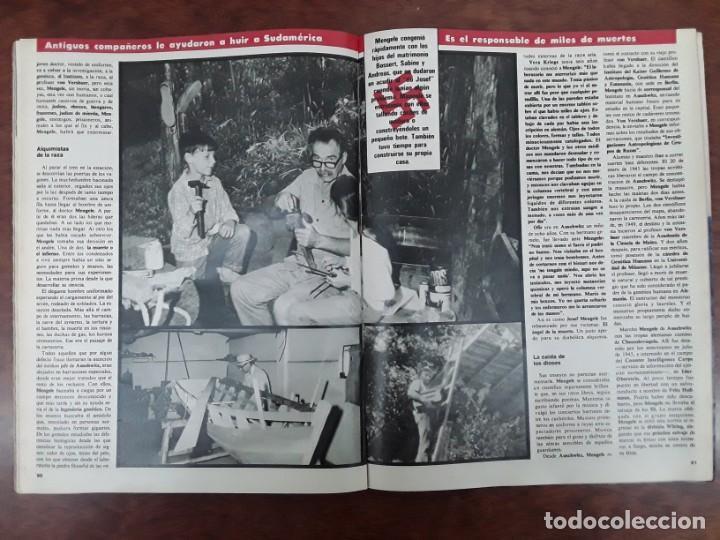 Coleccionismo de Revistas y Periódicos: ISABEL PREYSLER MIGUEL BOYER GRIÑON NAZI DOCTOR MENGELE ASESINATO NIÑO 11 AÑOS COMPETA MALAGA 1985 - Foto 11 - 243450030