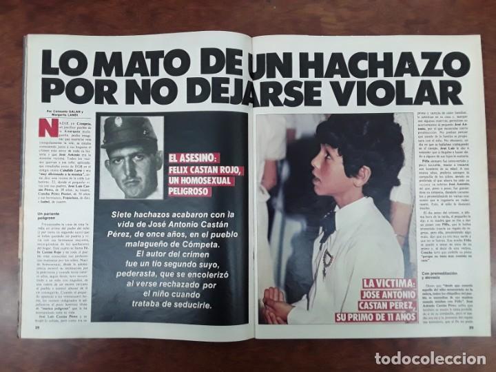Coleccionismo de Revistas y Periódicos: ISABEL PREYSLER MIGUEL BOYER GRIÑON NAZI DOCTOR MENGELE ASESINATO NIÑO 11 AÑOS COMPETA MALAGA 1985 - Foto 13 - 243450030