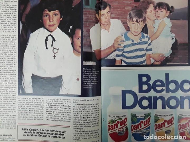 Coleccionismo de Revistas y Periódicos: ISABEL PREYSLER MIGUEL BOYER GRIÑON NAZI DOCTOR MENGELE ASESINATO NIÑO 11 AÑOS COMPETA MALAGA 1985 - Foto 14 - 243450030
