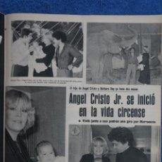 Collectionnisme de Revues et Journaux: RECORTE CLIPPING DE BARBARA REY Y ANGEL CRISTO JUNIOR REVISTA SEMANA Nº 2152 PAG. 17-18 L25. Lote 243456785