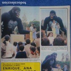 Coleccionismo de Revistas y Periódicos: RECORTE CLIPPING DE ENRIQUE Y ANA KING KONG REVISTA SEMANA Nº 2152 PAG. 29 L25. Lote 243457620