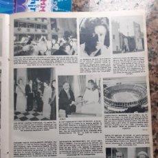 Coleccionismo de Revistas y Periódicos: CARMEN CONDE EN LA RAE NOOR DE JORDANIA JULIO IGLESIAS ISABEL PREYSLER. Lote 243504415