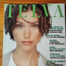 Coleccionismo de Revistas y Periódicos: TELVA Nº 660 DE 1994- SUZANNE VEGA- MODA- RICHARD GERE- NACHO DUATO- BOSNIA- LA UNION- EMMA THOMPSON. Lote 243545965