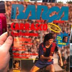 Colecionismo de Revistas e Jornais: REVISTA LA SAGA DEL BARCA - FUTBOL CLUB BARCELONA - NUM 12 MAYO 1983. Lote 243547565