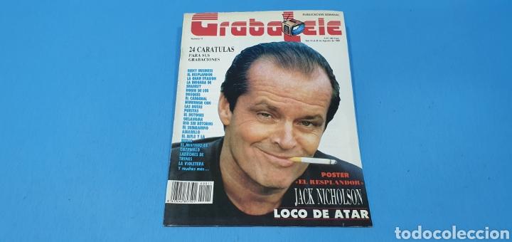 REVISTA - GRABATELE - N° 11 - AGOSTO 1989 (Coleccionismo - Revistas y Periódicos Modernos (a partir de 1.940) - Otros)