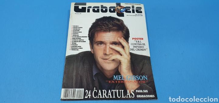 REVISTA - GRABATELE - N° 10 - AGOSTO 1989 (Coleccionismo - Revistas y Periódicos Modernos (a partir de 1.940) - Otros)