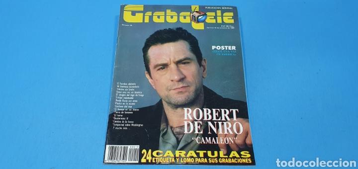 REVISTA- GRABATELE - N° 19 - OCTUBRE 1989 (Coleccionismo - Revistas y Periódicos Modernos (a partir de 1.940) - Otros)