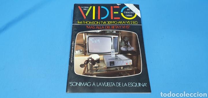 REVISTA - LA SAGA DEL VÍDEO- SU TERCER CANAL - N° 14 - SEPTIEMBRE 1982 (Coleccionismo - Revistas y Periódicos Modernos (a partir de 1.940) - Otros)