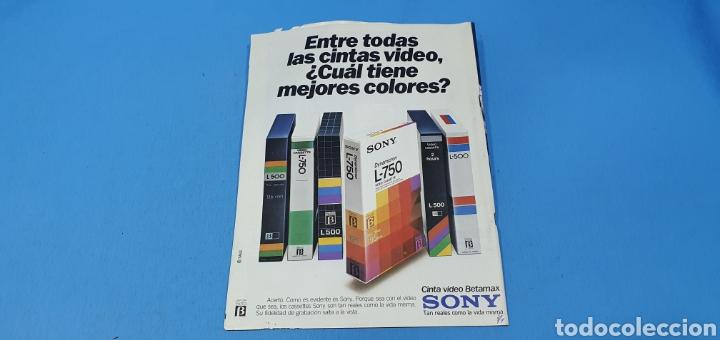 Coleccionismo de Revistas y Periódicos: REVISTA - VÍDEO ACTUALIDAD - N° 22 - ABRIL 1983 - Foto 4 - 243561190