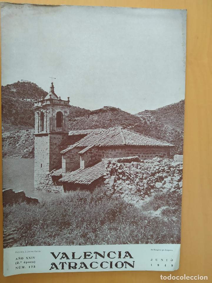 VALENCIA ATRACCION - ALPUENTE, VERA, MISLATA , LIRIA, MUSICA POPULAR VALENCIANA - AÑO 1949 (Coleccionismo - Revistas y Periódicos Modernos (a partir de 1.940) - Otros)
