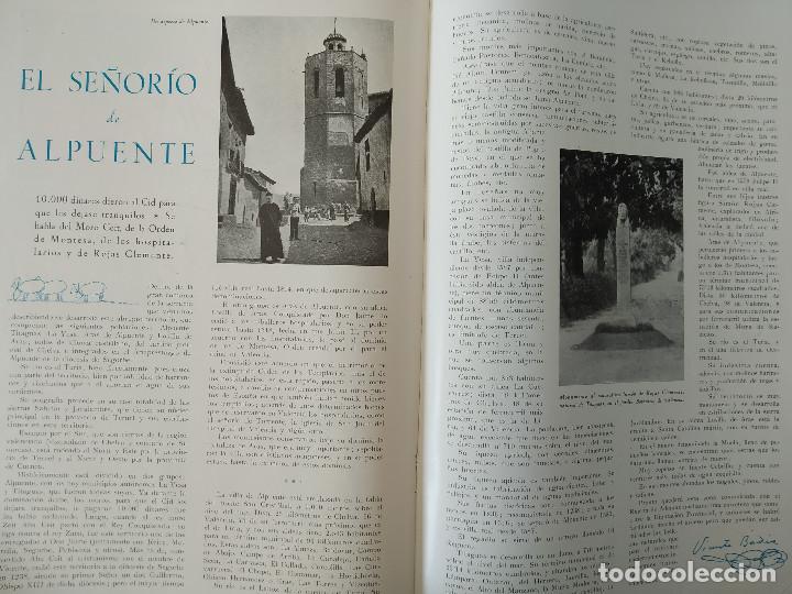 Coleccionismo de Revistas y Periódicos: VALENCIA ATRACCION - ALPUENTE, VERA, MISLATA , LIRIA, MUSICA POPULAR VALENCIANA - AÑO 1949 - Foto 2 - 243592570