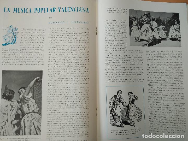 Coleccionismo de Revistas y Periódicos: VALENCIA ATRACCION - ALPUENTE, VERA, MISLATA , LIRIA, MUSICA POPULAR VALENCIANA - AÑO 1949 - Foto 3 - 243592570