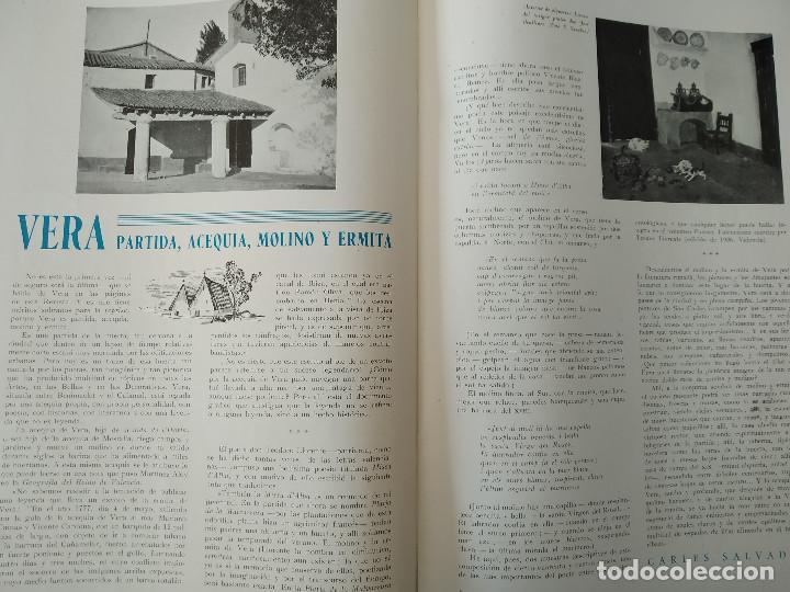 Coleccionismo de Revistas y Periódicos: VALENCIA ATRACCION - ALPUENTE, VERA, MISLATA , LIRIA, MUSICA POPULAR VALENCIANA - AÑO 1949 - Foto 4 - 243592570