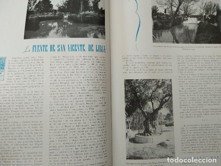 Coleccionismo de Revistas y Periódicos: VALENCIA ATRACCION - ALPUENTE, VERA, MISLATA , LIRIA, MUSICA POPULAR VALENCIANA - AÑO 1949 - Foto 6 - 243592570