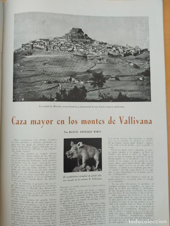Coleccionismo de Revistas y Periódicos: VALENCIA ATRACCION - PEÑISCOLA, CHOPIN. LA PAELLA POR JOSE PLA, AÑO 1949 - Foto 8 - 243592820
