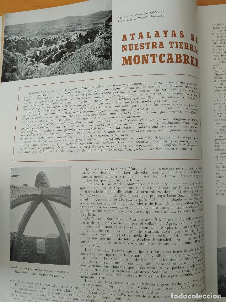 Coleccionismo de Revistas y Periódicos: VALENCIA ATRACCION - PEÑISCOLA, CHOPIN. LA PAELLA POR JOSE PLA, AÑO 1949 - Foto 11 - 243592820
