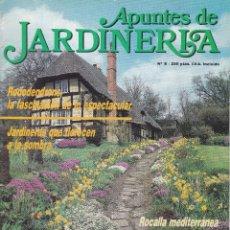 Coleccionismo de Revistas y Periódicos: REVISTA APUNTES DE JARDINERIA Nº 8 VERANO 1987. Lote 243630935