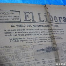 Coleccionismo de Revistas y Periódicos: EL LIBERAL 6-1929,EL VUELO DEL COMANDANTE FRANCO- IMPORTANTE LEER DESCRIPCION. Lote 243636950