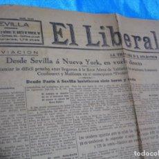 Coleccionismo de Revistas y Periódicos: EL LIBERAL 5-6-1929,- MUY INTERESANTE- IMPORTANTE LEER DESCRIPCION. Lote 243638785