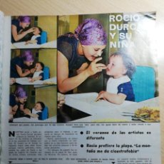 Coleccionismo de Revistas y Periódicos: ROCIO DURCAL. RECORTE REVISTA. Lote 243658035