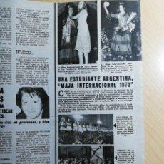 Collectionnisme de Revues et Journaux: MAJA INTERNACIONAL 1972. Lote 243658730