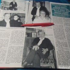 Coleccionismo de Revistas y Periódicos: RECORTE : ANTONIO MOLINA, ENFERMO. SEMANA, ENERO 1991(#). Lote 243765625