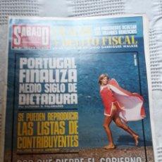 Coleccionismo de Revistas y Periódicos: REVISTA 1974 - LOS SIMBOLOS - PINTOR J.ANTONIO MOLINA - MADRID , JULIO DE 1936. Lote 243776720