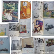 Coleccionismo de Revistas y Periódicos: HOUSE & GARDEN. JUNE 1926. VOL XLIX NUMBER SIX.. Lote 243836000