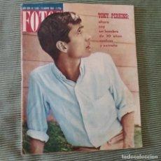 Coleccionismo de Revistas y Periódicos: FOTOS: NUMERO 1383 - 31 AGOSTO 1963 / TONY PERKINS. Lote 243842780