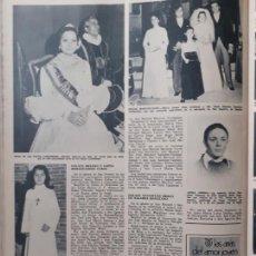Coleccionismo de Revistas y Periódicos: 1974 REINA DE LOS PATIOS DE CORDOBA DOÑA JIMENA DE ORGAZ. Lote 277178198