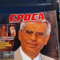 Coleccionismo de Revistas y Periódicos: REVISTA EPOCA JUNIO 1995. Lote 243878080