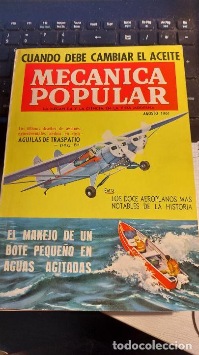 REVISTA MECANICA POPULAR (Coleccionismo - Revistas y Periódicos Modernos (a partir de 1.940) - Otros)
