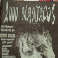 Collectionnisme de Revues et Journaux: FANZINE 2000 MANÍACOS, 09. Lote 243926290