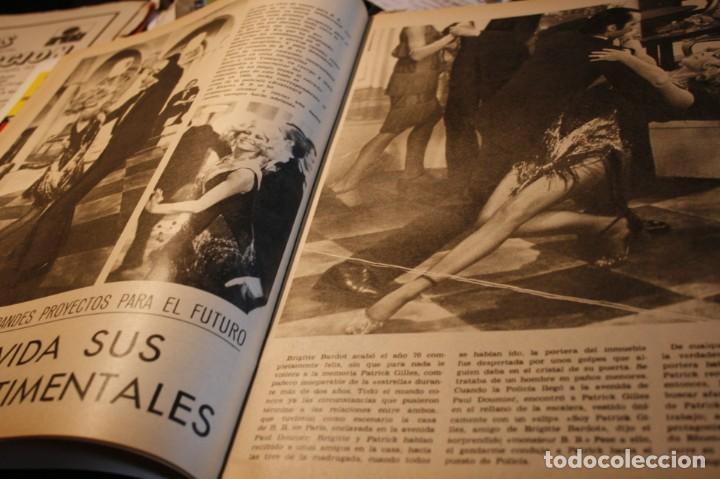 Coleccionismo de Revistas y Periódicos: BRIGITTE BARDOT AUDREY HEPBURN HERMANOS CALATRAVA FOLKLORE VASCO JULIO IGLESIAS 1971 - Foto 2 - 244022360