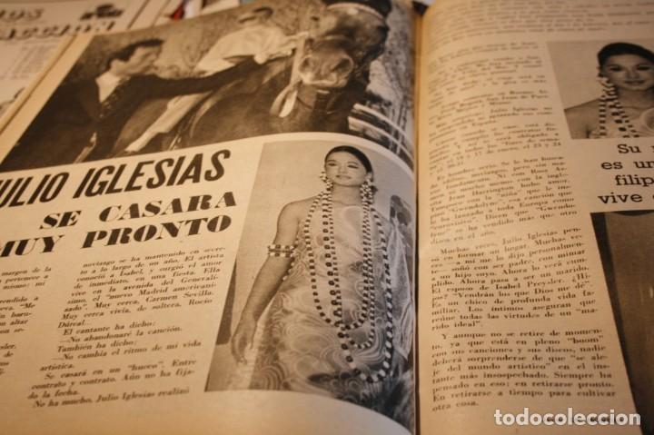 Coleccionismo de Revistas y Periódicos: BRIGITTE BARDOT AUDREY HEPBURN HERMANOS CALATRAVA FOLKLORE VASCO JULIO IGLESIAS 1971 - Foto 4 - 244022360