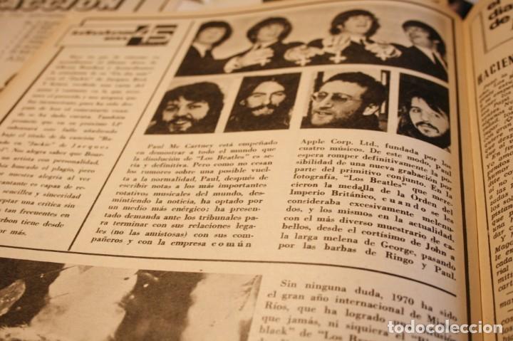 Coleccionismo de Revistas y Periódicos: BRIGITTE BARDOT AUDREY HEPBURN HERMANOS CALATRAVA FOLKLORE VASCO JULIO IGLESIAS 1971 - Foto 5 - 244022360