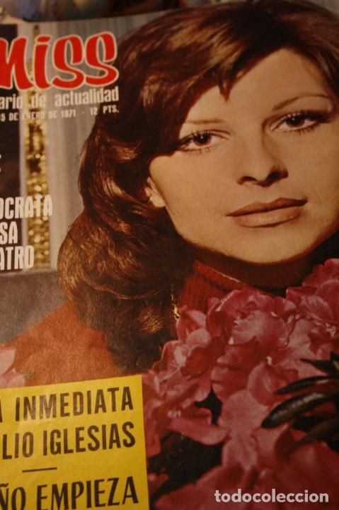 BRIGITTE BARDOT AUDREY HEPBURN HERMANOS CALATRAVA FOLKLORE VASCO JULIO IGLESIAS 1971 (Coleccionismo - Revistas y Periódicos Modernos (a partir de 1.940) - Otros)