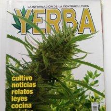 Coleccionismo de Revistas y Periódicos: YERBA Nº 95 - LA INFORMACIÓN DE LA CONTRACULTURA. Lote 244406510