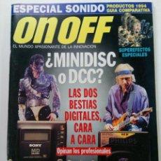 Coleccionismo de Revistas y Periódicos: ON OFF Nº 26 - EL MUNDO APASIONANTE DE LA INNOVACIÓN. Lote 244407175