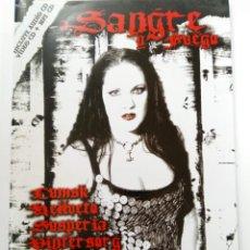 Coleccionismo de Revistas y Periódicos: SANGRE Y FUEGO Nº 5 (SOLO REVISTA). Lote 244407695